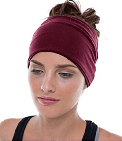 A yoga headband.